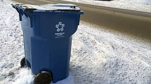 Snow Trash Can